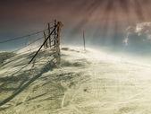 Se acerca el invierno — Foto de Stock