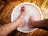 Nohy lázně — Stock fotografie