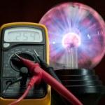 Electricity control — Stock Photo