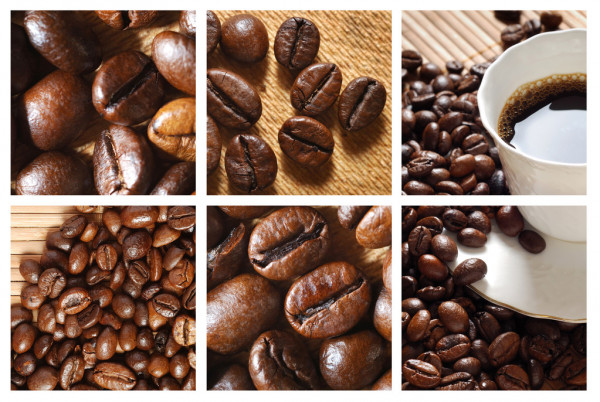 Coffee collage — Stock Photo #2605348