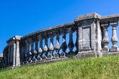 Vecchio recinto a peterhof — Foto Stock