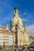 Frauenkirche temple in Dresden, Germany — Stock Photo