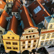 Stockfoto: View on roofs in Prague
