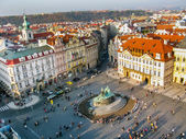 View on Staromestke namesti in Prague — Stockfoto