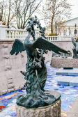 Fairy bird sculpture in Moscow — ストック写真