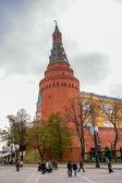 посмотреть в замке кремля в москве — Стоковое фото
