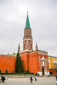 View in Kremlin Castle in Moscow — Stock Photo