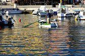 Rovinki port (Croatia) — Stock Photo