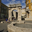 Arch of Triumph (Pula) — Stock Photo