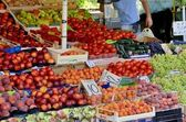 Market in Pula (Croatia) — ストック写真