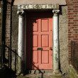 Georgian Door, Dublin Ireland — Stock Photo