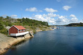Swedish Fjord — Stock Photo