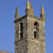 The bell tower in Monteriggioni — Stock Photo