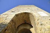 Porta Franca (Monteriggioni) — Stock Photo