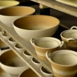 Raw potteries — Stock Photo