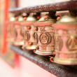 Royalty-Free Stock Photo: Tibetan prayer wheel