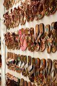 Výběr bot — Stock fotografie