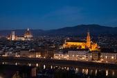 Panoráma města florencie — Stock fotografie