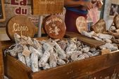 The market of sarlat — Stock Photo