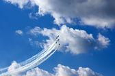 Aerobatics — Stok fotoğraf