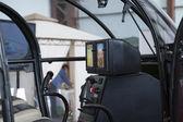 Die Kabine des Hubschraubers — Stockfoto