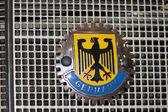 German coat of arms — Stock Photo