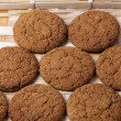 oatmeal cookies — Stock Photo