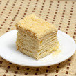 Flaky sweet pastry — 图库照片