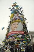 Mitin de la oposición en kiev — Foto de Stock