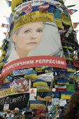 Opposition rally in Kiev — Stock Photo