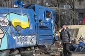 Barikatlar kiev — Stok fotoğraf