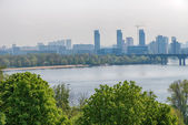 View of the Dnieper — Stock Photo