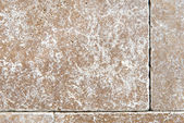 Building natural stone cladding — Stock Photo
