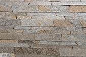 Rivestimento in pietra naturale da costruzione — Foto Stock