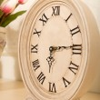 Old mantel clock — Stock Photo