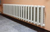 Heating radiator. — Stock Photo