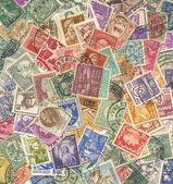 Stamps mail. — Stok fotoğraf