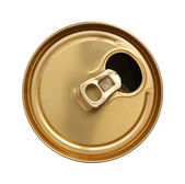 The open can of beer. — Stock Photo