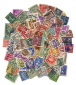 почтовых марок. — Стоковое фото