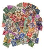Postzegels mail. — Stockfoto