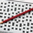 Stock Photo: Crossword.