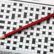 Crossword. — Stock Photo
