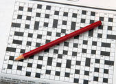 Crossword. — Foto de Stock