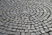 Cobblestone pavement. — Stock Photo