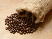 Coffee in a bag. — Stock Photo