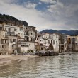 Cefalu Harbour — Stock Photo