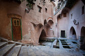 Ancient Roman baths, — Stock Photo