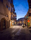 Cefalu street scene. — Stock Photo