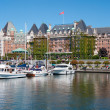 The Empress Hotel, Victoria, British Columbia, Canada — Stock Photo #30014503