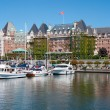 The Empress Hotel, Victoria, British Columbia, Canada — Stock Photo
